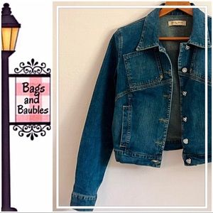 SEE BY CHLOE Denim Jacket, Size Small